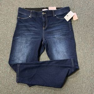NEW Juicy Couture Seamless Skinny Blue Jeans